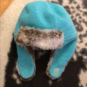 Super cute zutano hunter hat with soft fleece